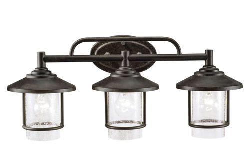 Bronze 3 Light Vanity At Menards, Menards Bathroom Lights