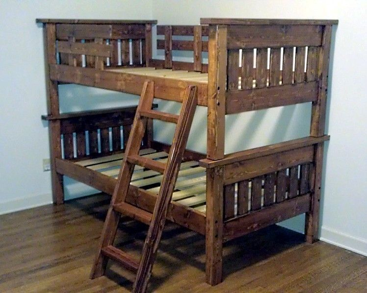 Best Stylish And Low Cost Pallet Loft Beds With Images 400 x 300