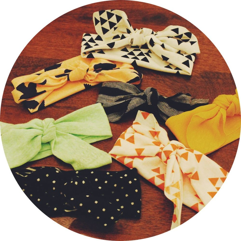 Easy DIY Baby Headbands | Craft Ideas | Pinterest | Schnittmuster ...