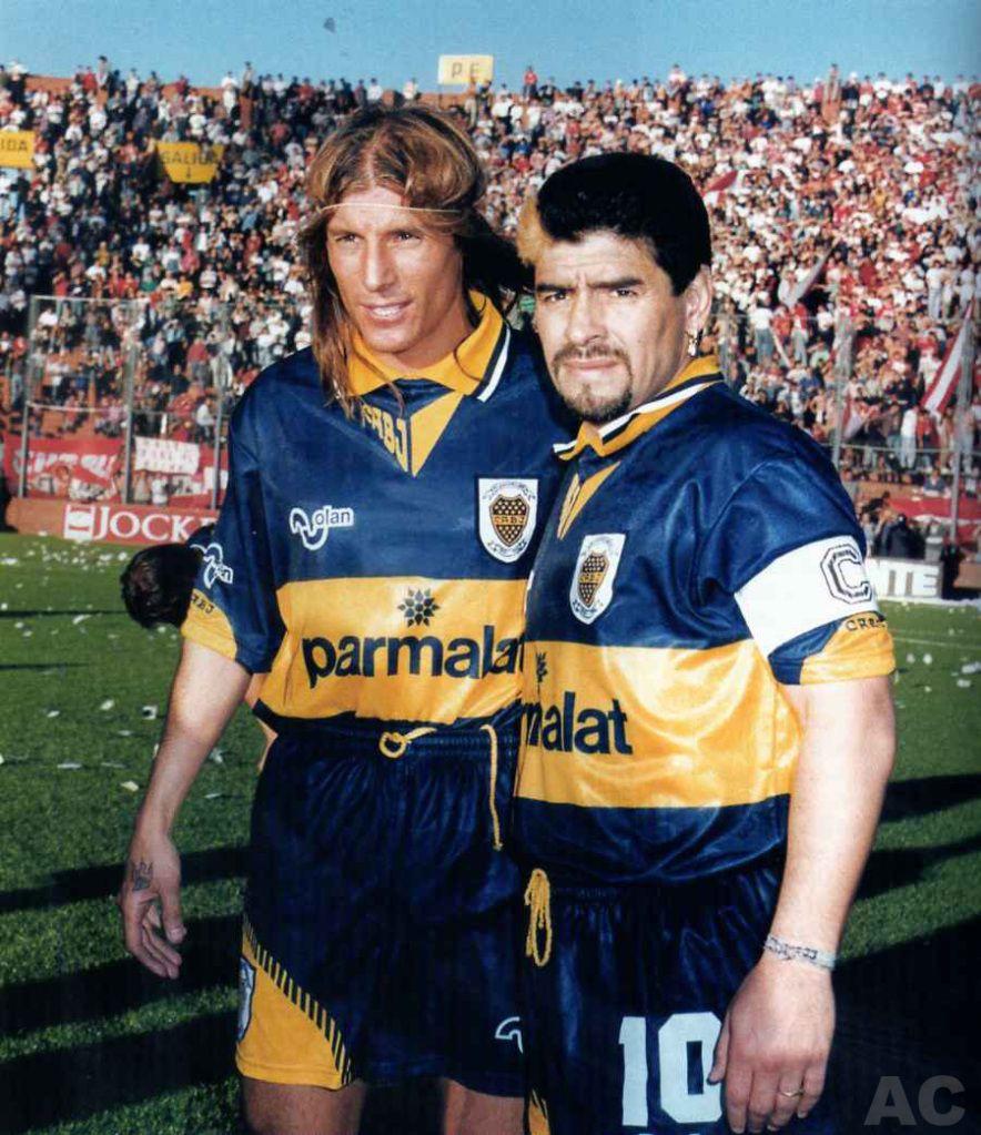 Claudio Caniggia, Diego Armando Maradona. (con imágenes) | Fotos ...