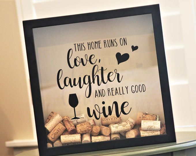 Wine Cork Holder Frame This Home Runs On Really Good Wine Cork