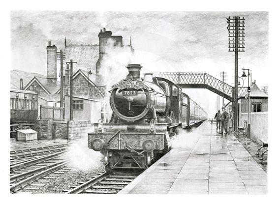 Drawings Of Ex Great Western Railway Locomotives on Behance
