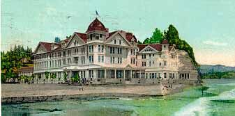 Post Card Of The Capitola Hotel California