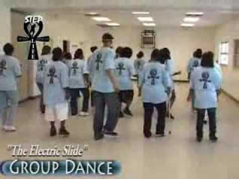Line Dance The Electric Slide Also Known As Harlem Shuffle Try It To Mustang Sally By Wilson Pickett Line Dancing Dance Steps Electric Slide Dance