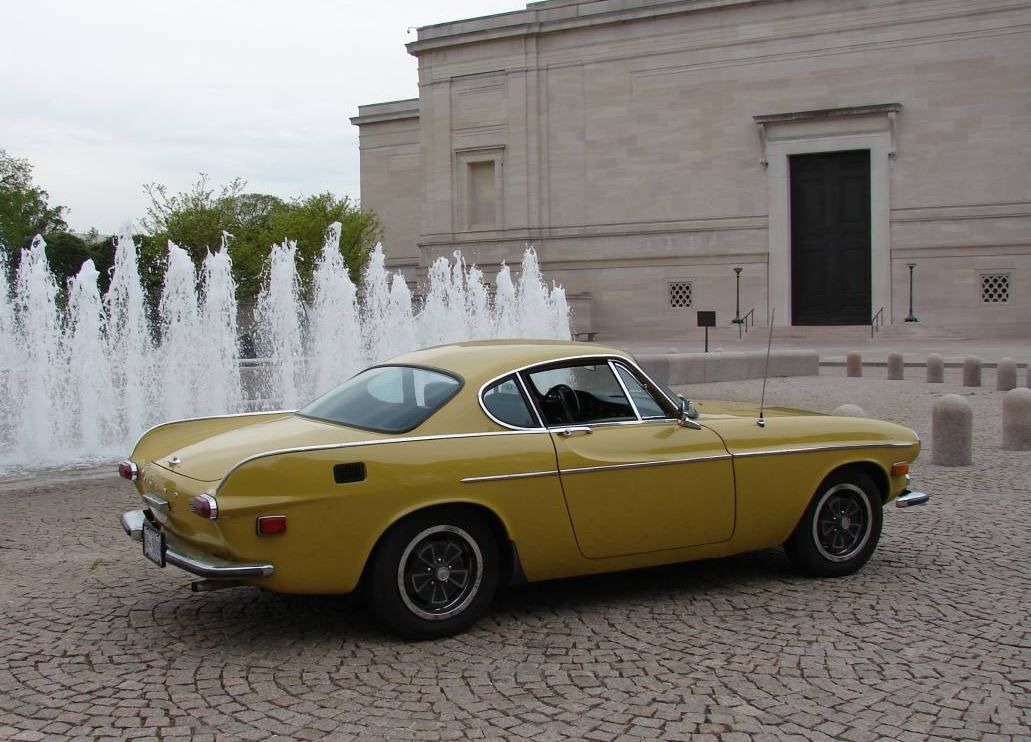 Mustard Colored Coupe 1970 Volvo 1800E Volvo, Volvo