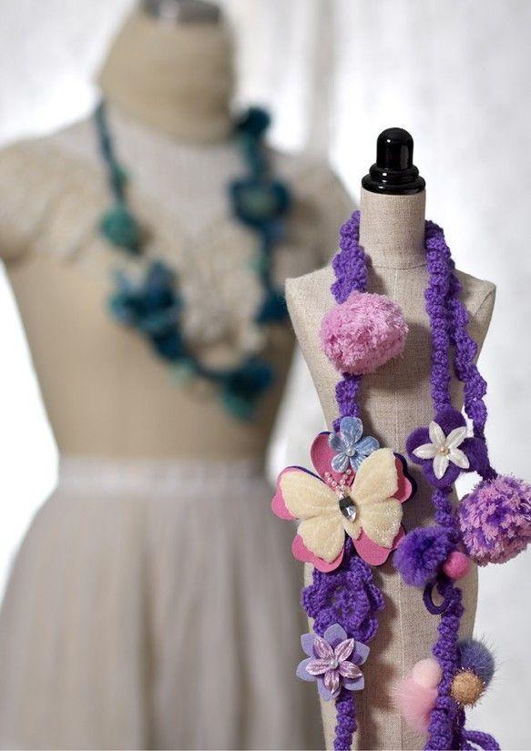 『bouquet』 ブーケ * 花束 *色とりどりの花の可憐さを表現こころに花束を。。。|ハンドメイド、手作り、手仕事品の通販・販売・購入ならCreema。