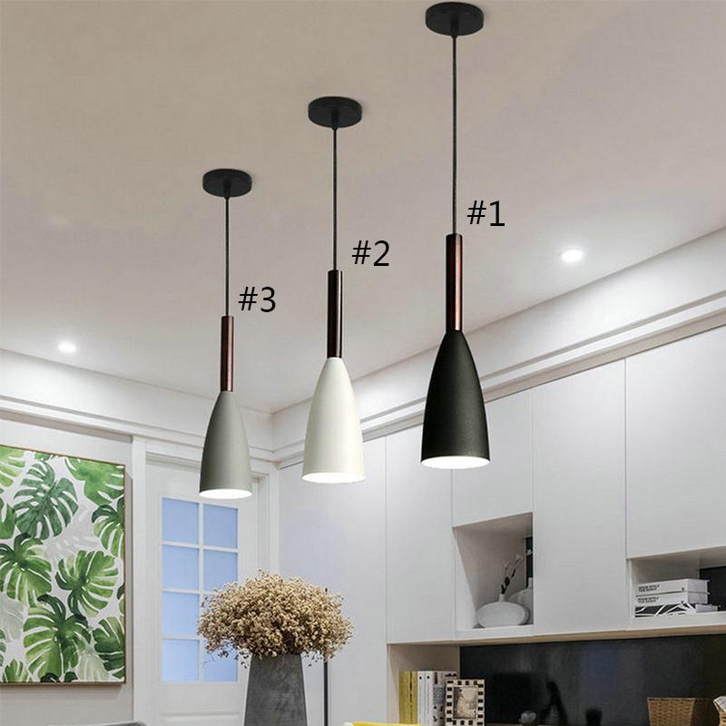 Modern Simple Pendant Light Cord Adjustable Lamp Special Design Light Bedroom Hallway Light Qm3054 In 2020 Round Pendant Light Modern Pendant Light Led Pendant Lights