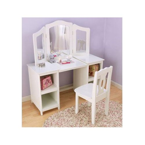Baby Furniture Amp Bedding Deluxe Vanity And Chair Kids