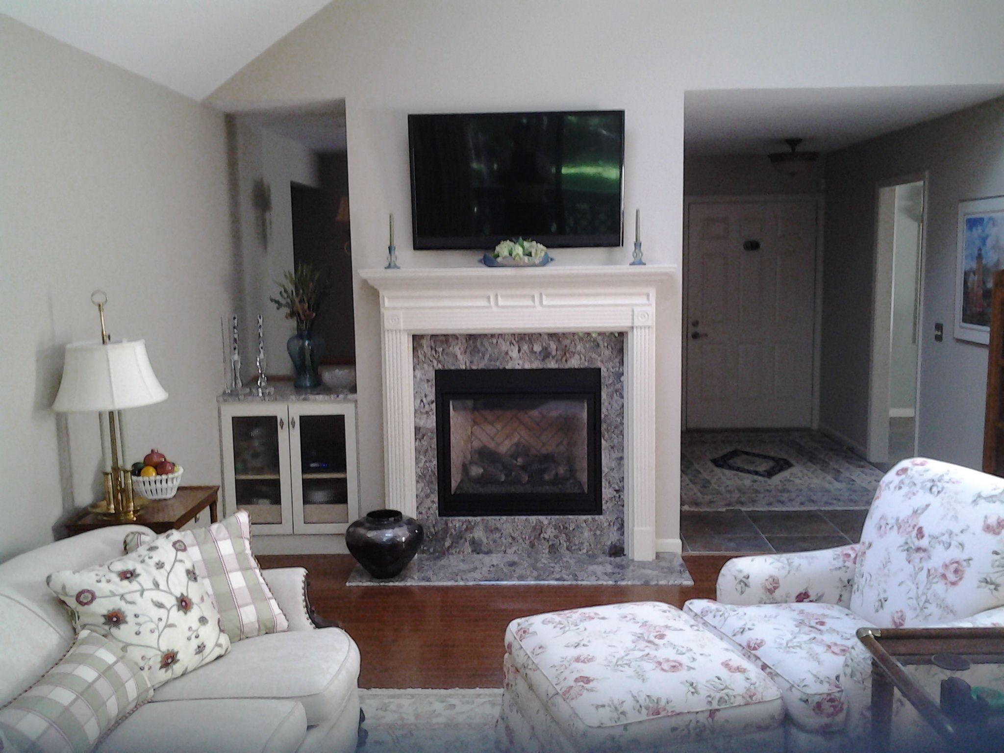 Fireplace remodel project by DeHaan Remodeling Specialists ...