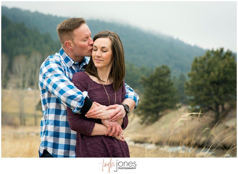Colorado mountain engagement shoot - Taylor Jones Photography
