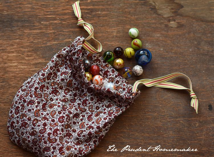 Occ Marble Bag The Prudent Homemaker Operation Christmas