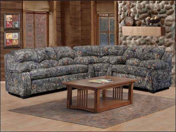 Furniture Camouflage Sectional Couch