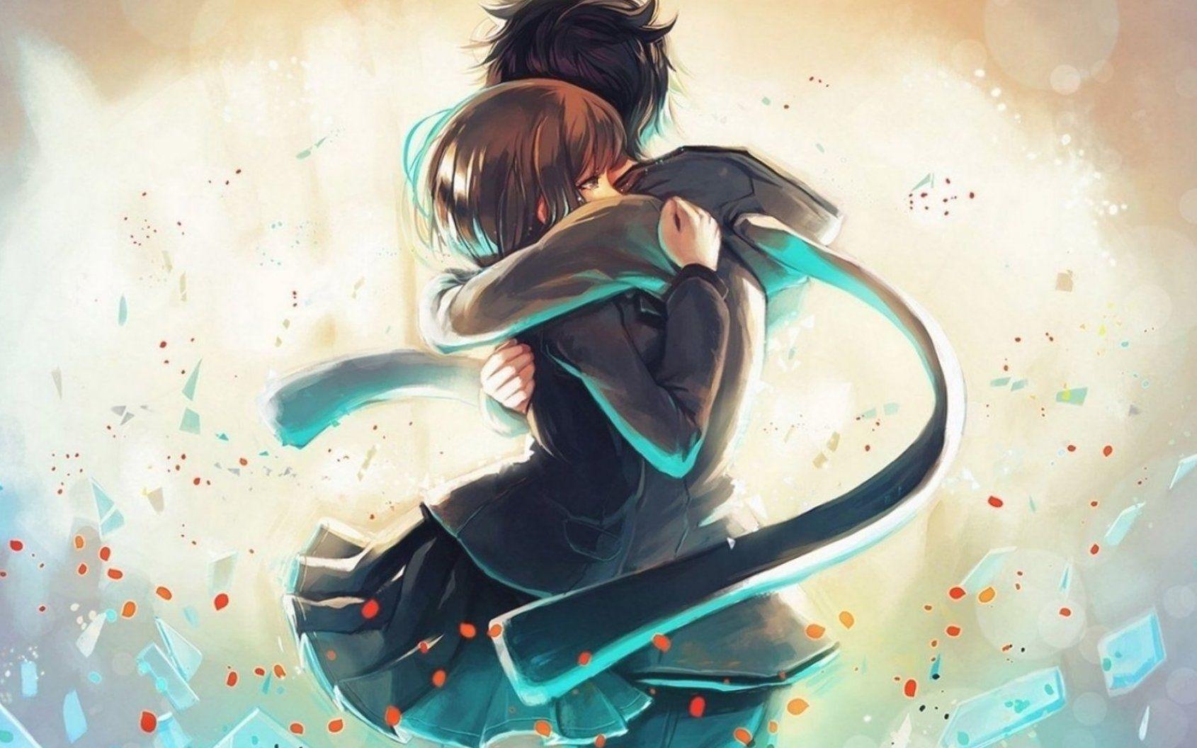 Anime Couple Wallpapers For Mobile Cute Anime Wallpapers 82 Background Pictures 73 Cute Anime Couple Wallpaper In 2020 Hd Anime Wallpapers Anime Wallpaper Anime Hug