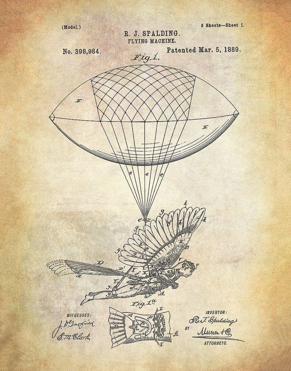 both of topical and historical relevance prints of patents are an excellent way to display your avocation and other areas of interest and at the s