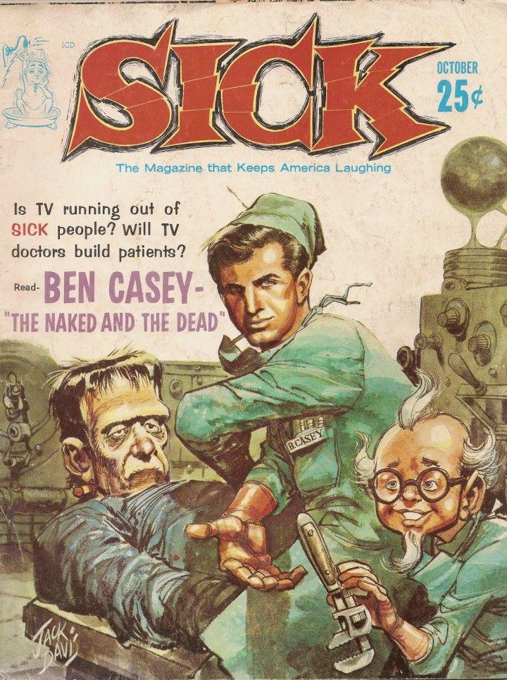 Sick_Magazine Jack davis, Cartoon artist, Record albums art