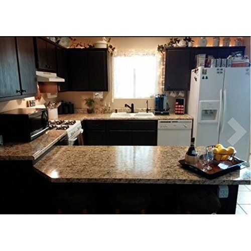 Instant Granite Counter Top Peel And Stick Gold Granite 36 X 14