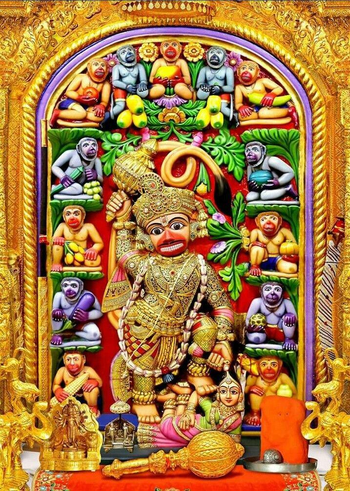 Hanuman in 2020   Buddha painting, Hanuman hd wallpaper ...