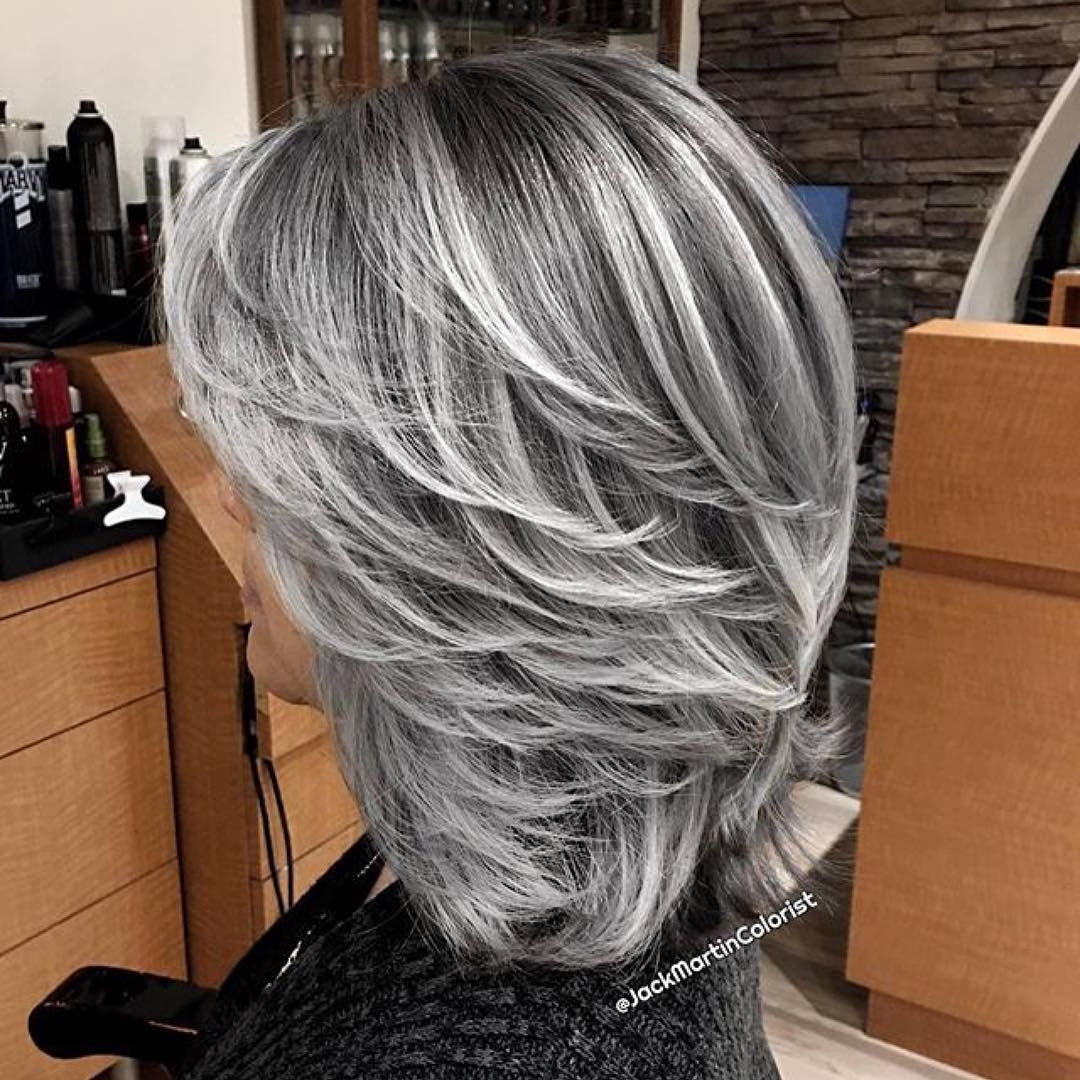 Pin By Esperanza Sanchez On Hair Color Hair Highlights Gray Hair Highlights Hair Styles