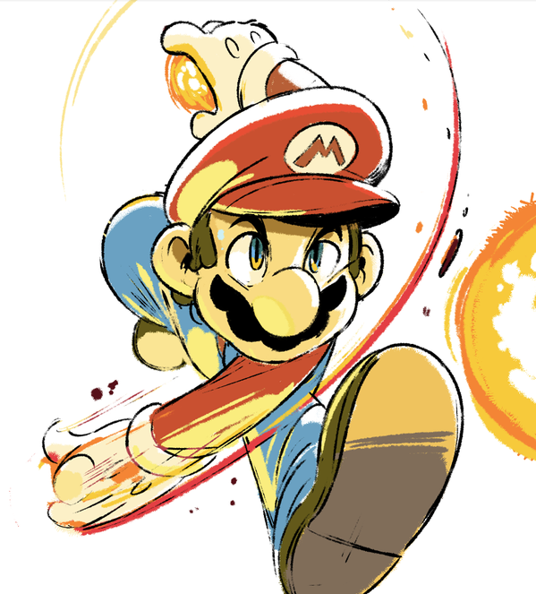 Illustrations And Etc By Tyson Hesse Been Drawing Some Half Hour Smash Bros Sketches Super Mario Art Mario Art Super Mario Bros