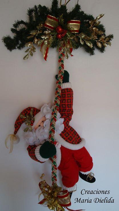 Munecos Navidenos Manualidades Navidad Pinterest Navidad