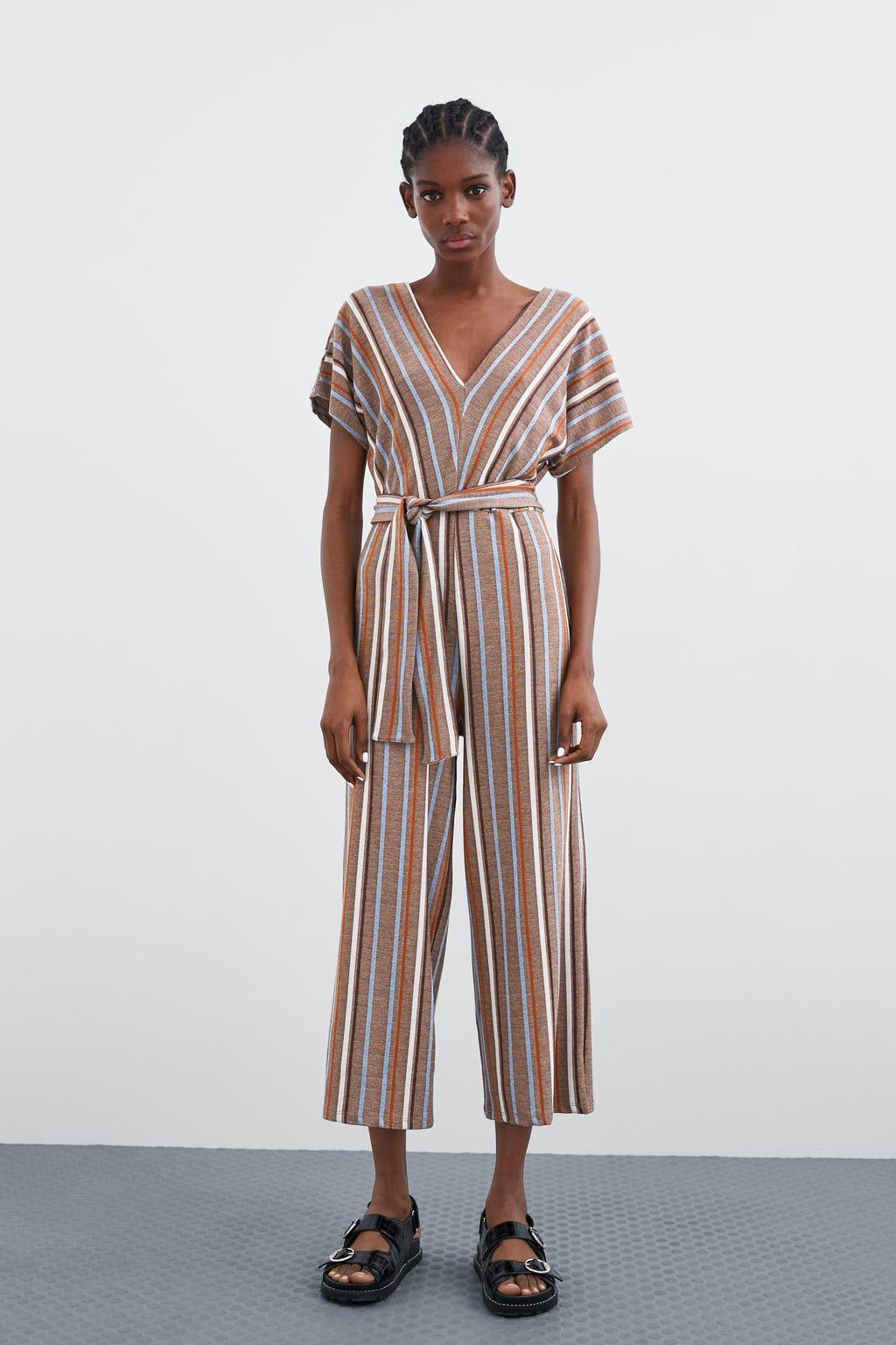 4c4c3e19114 STRIPED RUSTIC JUMPSUIT-DRESSES-TRF