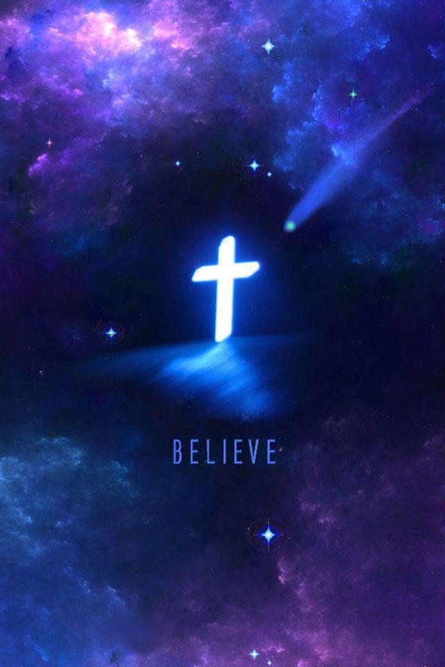 He believes in you, do you believe in Him? Papel de