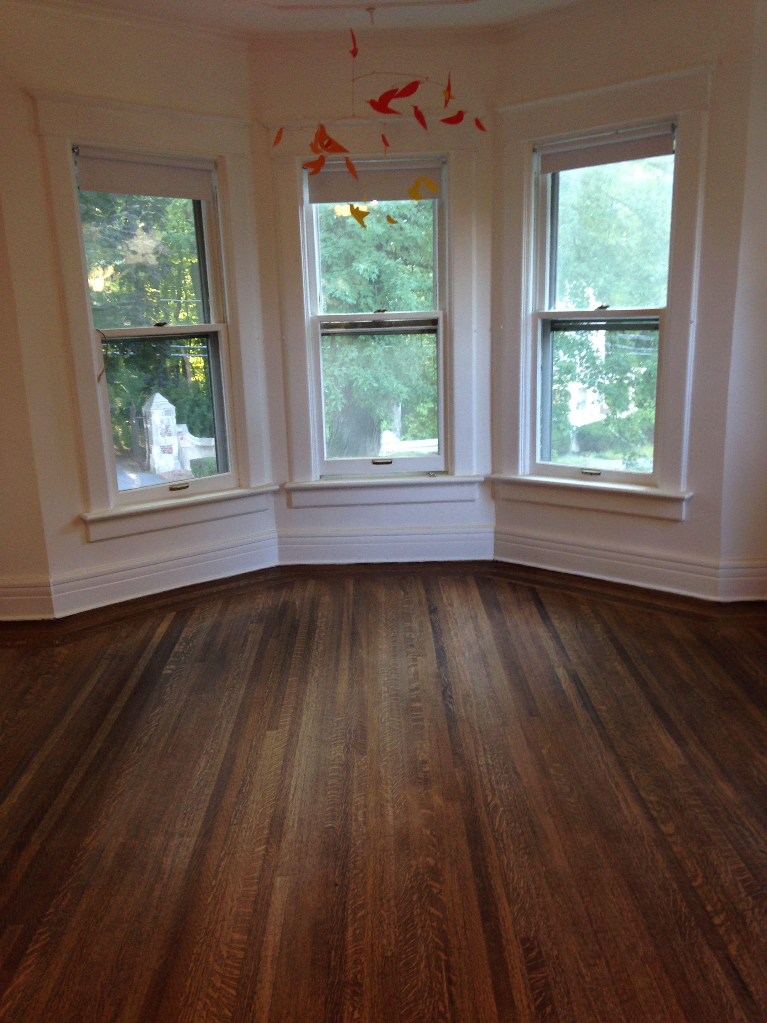 Oak Floors Stained With Minwax Dark Walnut Wood Flooring In 2019
