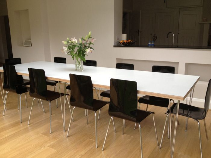 Formica Birch Ply Dining Tables And Desks By Matt Antrobus