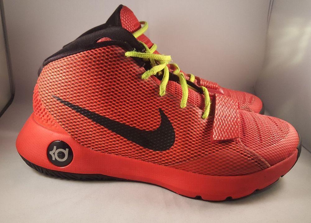 super popular 9afbe 9005a Nike KD Trey 5 III 3 Size 8 Men's Basketball Red Black ...