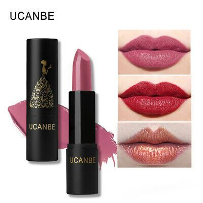 8 Colors Moisturizing Smooth Lipsticks Makeup Matte Shimmer