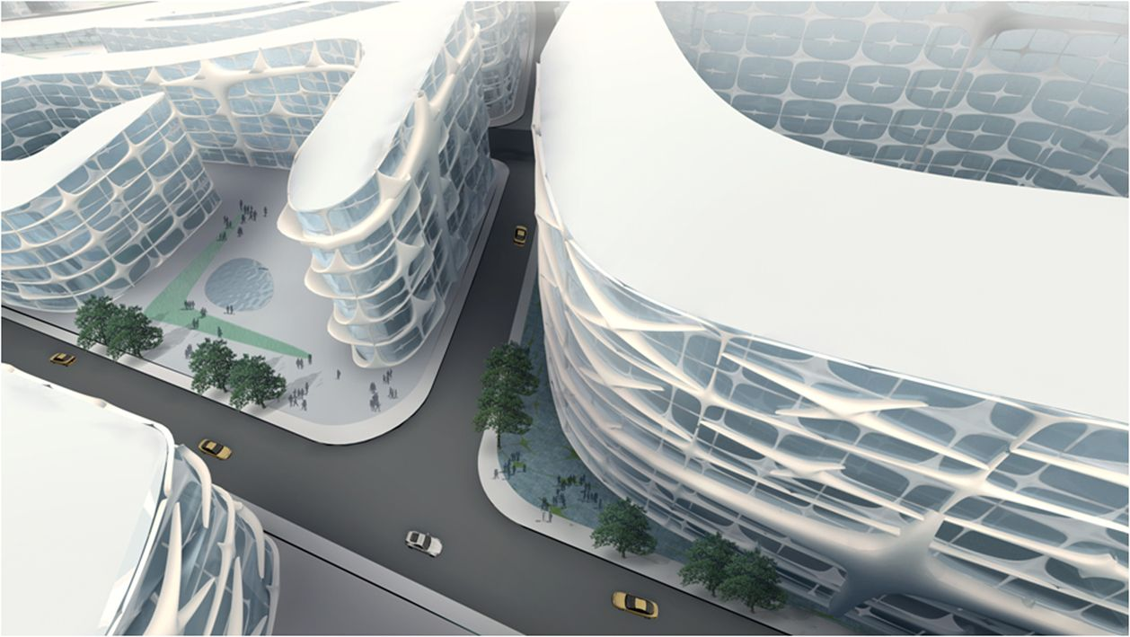 Parametricism a new global style for architecture and for Outer space urban design