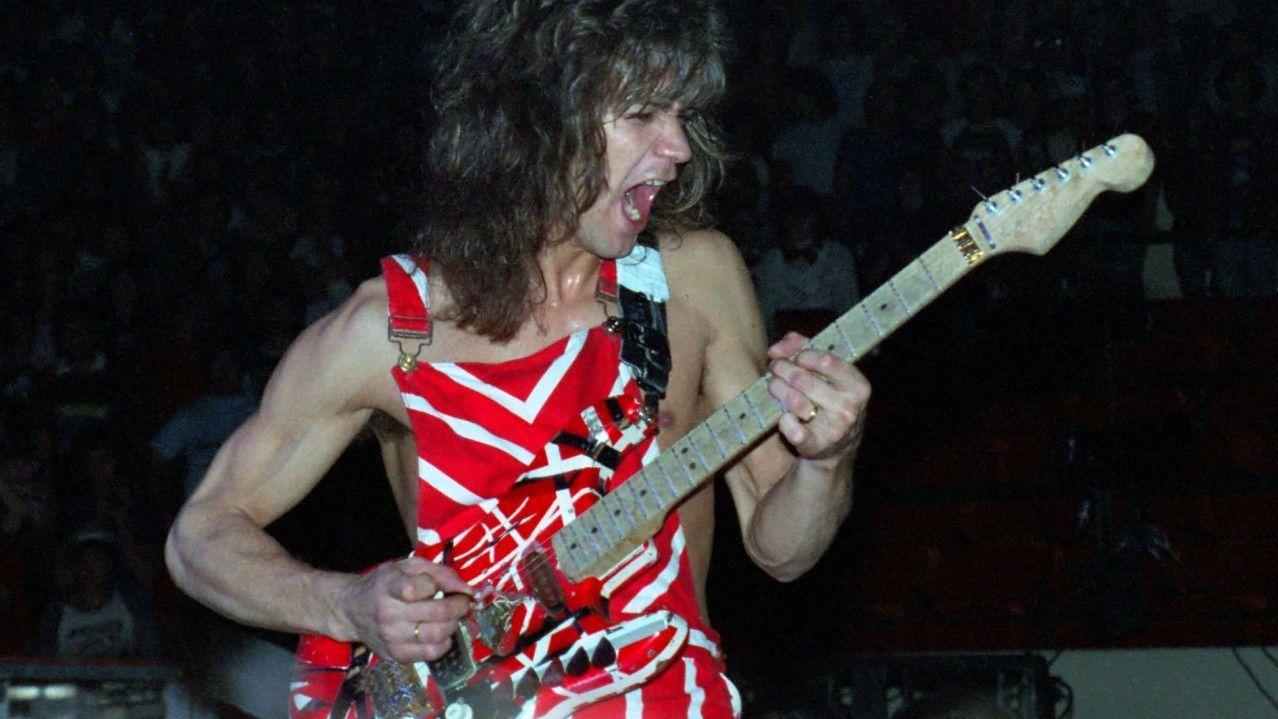 Uh Oh Eddie Van Halen Melted Another Amp He Was Hot For Teacher I Guess Too Hot 80smusic Van Halen Eddie Van Halen Halen