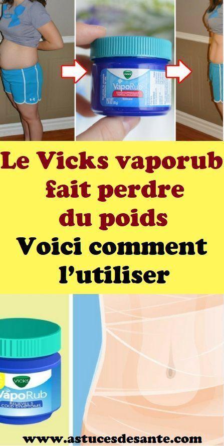 Le vaporub Vicks vous fait perdre du poids. Voici comment ...