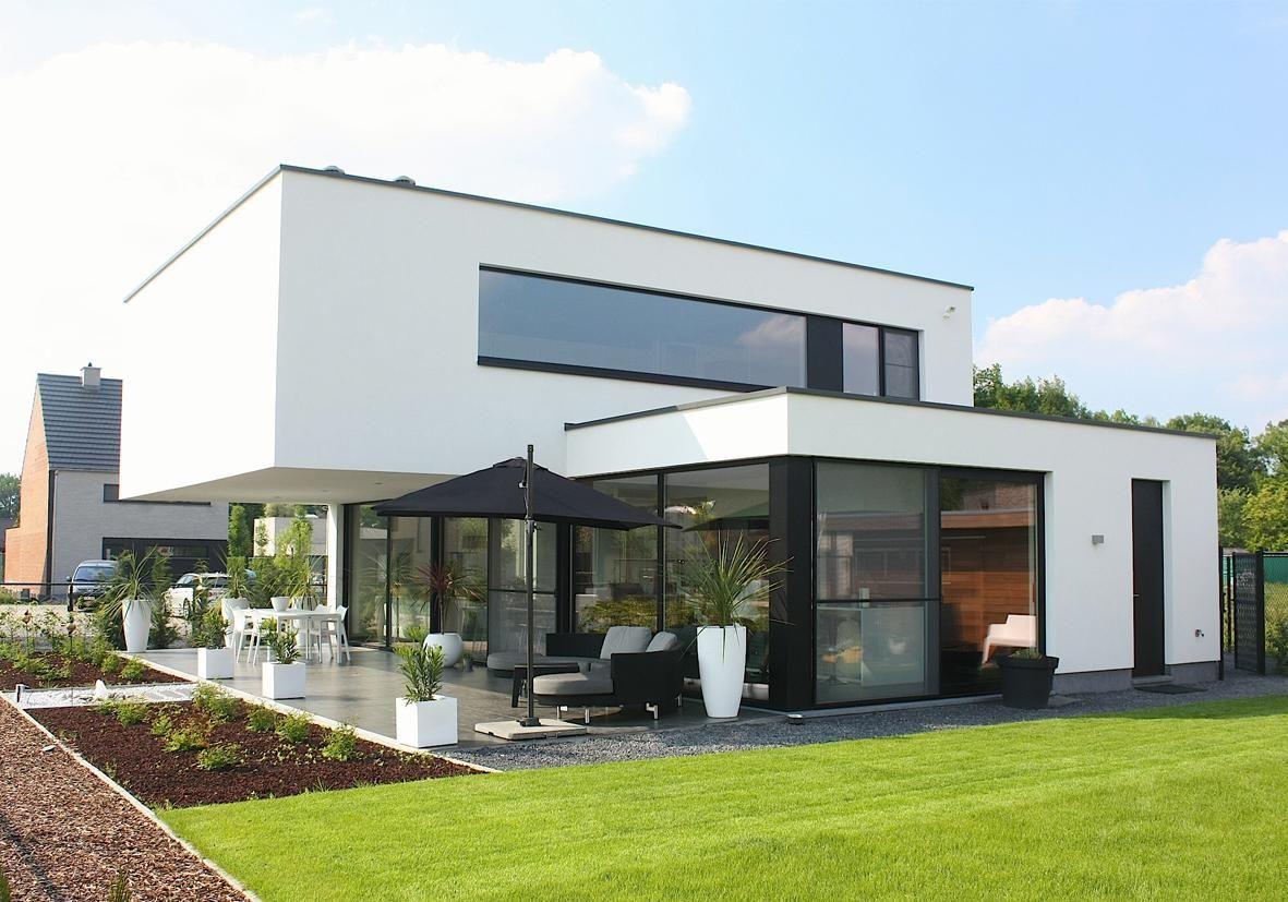 Woning L [Hasselt] | Concrete House | Dream Home | Pinterest ...