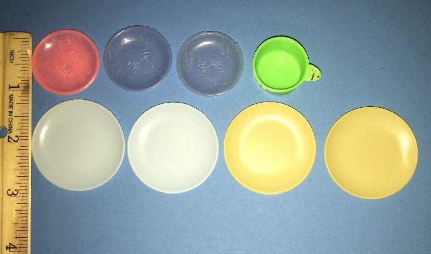 Vintage Dessert, Dinner Plates And Pot Lot #6  | eBay