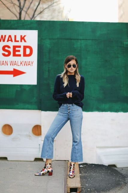 How to Wear: Cropped Flare Jeans