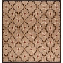Woven Tan Cladagh Indoor/Outdoor Moroccan Lattice Rug (7'6 Square) Write a review Sale $164.89 Today $193.99 Save $29.10 (15%) Item #: 14311975