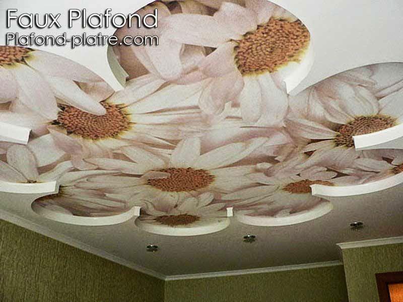 D cor faux plafond de la chambre coucher endroits for Faux plafond pour chambre a coucher