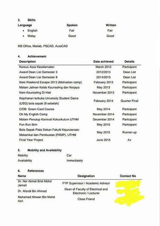 resume terbaik menjadi viral di facebook contoh resume dan tips