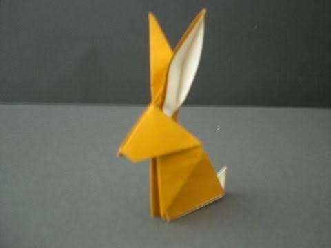 origami hase falten anleitung und inspirierende osterdeko ideen ostern origami origami. Black Bedroom Furniture Sets. Home Design Ideas