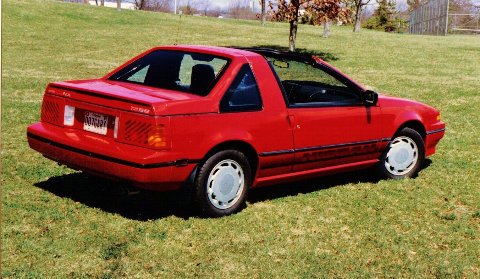 1987 nissan pulsar nx se purchased new in 1987 with removable rear hatch and t