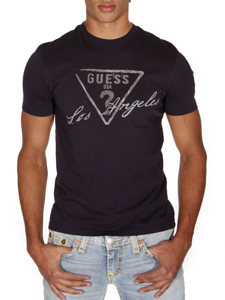 guess tee shirt guess tous les produits de la marque. Black Bedroom Furniture Sets. Home Design Ideas