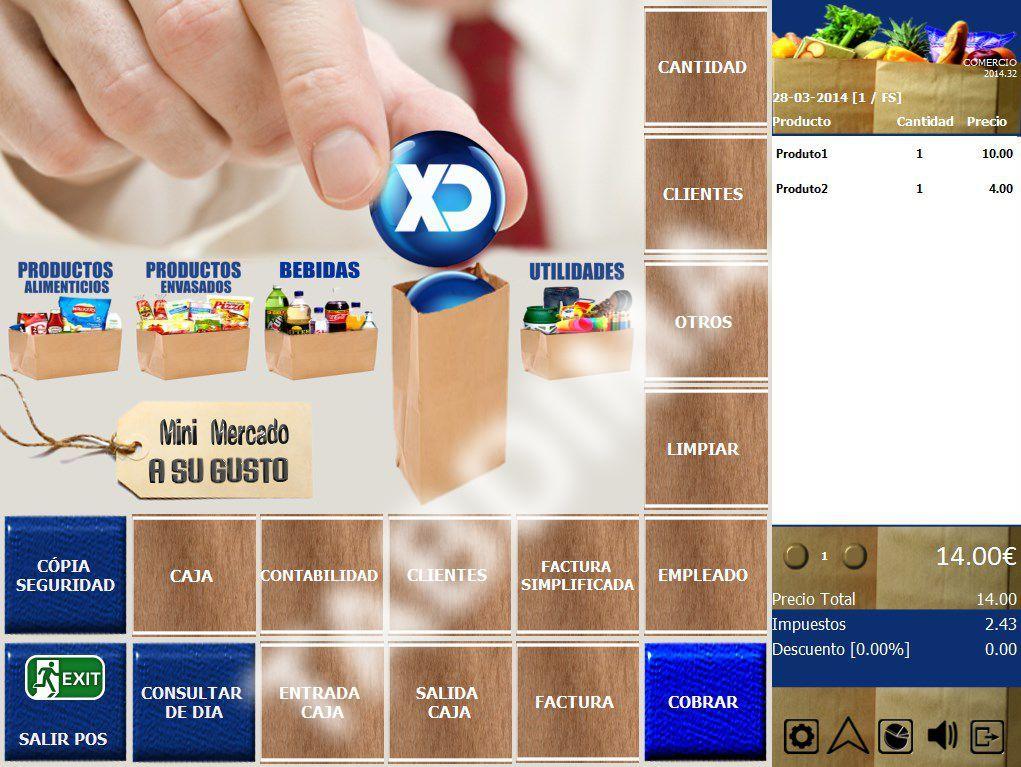 PRODUCTO LÍDER EN EL MERCADO DE PUNTO DE VENTA.  Es el más completo software del mercado para la gestión de Restaurantes, Cafeterías, Bares, Pizzerías, Pastelerías y Confiterías, preparado para la mejor y más completa configuración de los establecimientos y negocios antes mencionados.  XD Rest es intuitivo, potente y de gran alcance en la Gestión de dichos negocios.