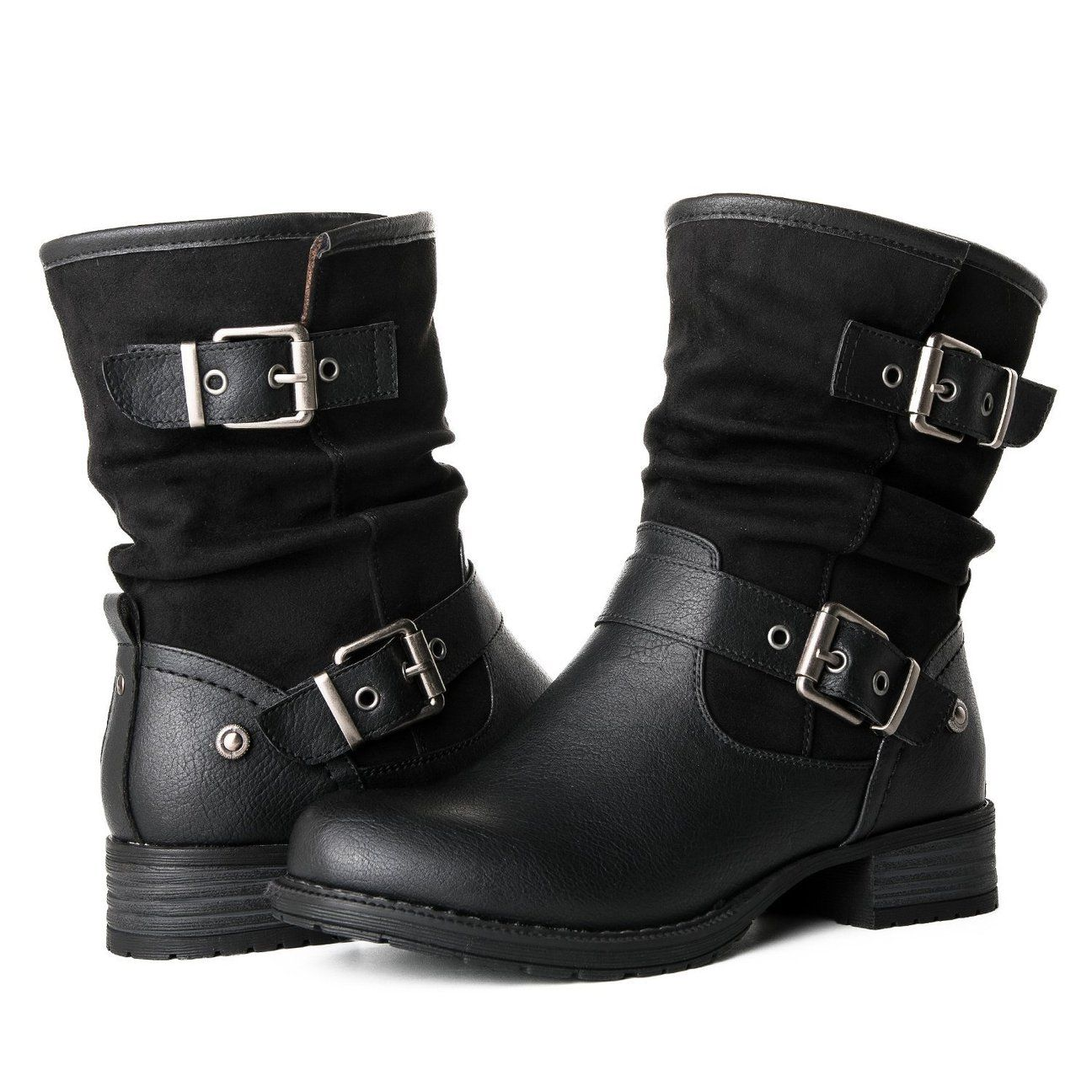c8e39354a Women's Biker Ankle Boots in 2019 | ozzies shit | Fashion boots ...