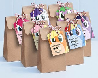 My Little Pony Printable Gift Tags You'll Love