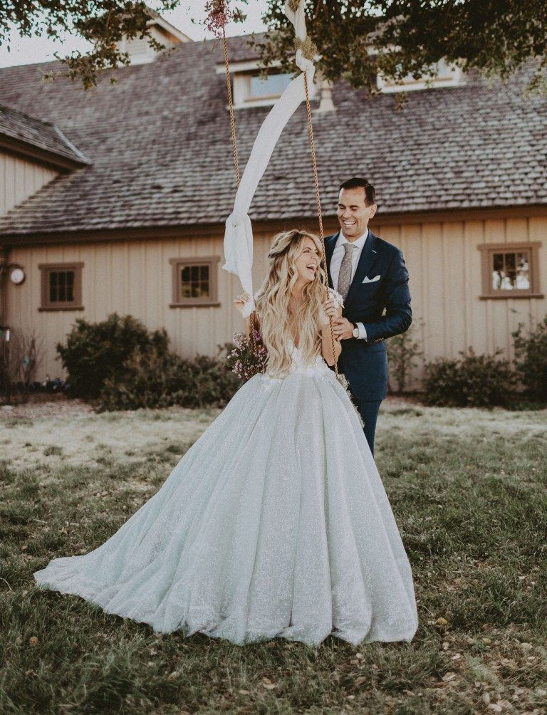 Chantelle Paige S Magical Fairy Tale Wedding In The Woods