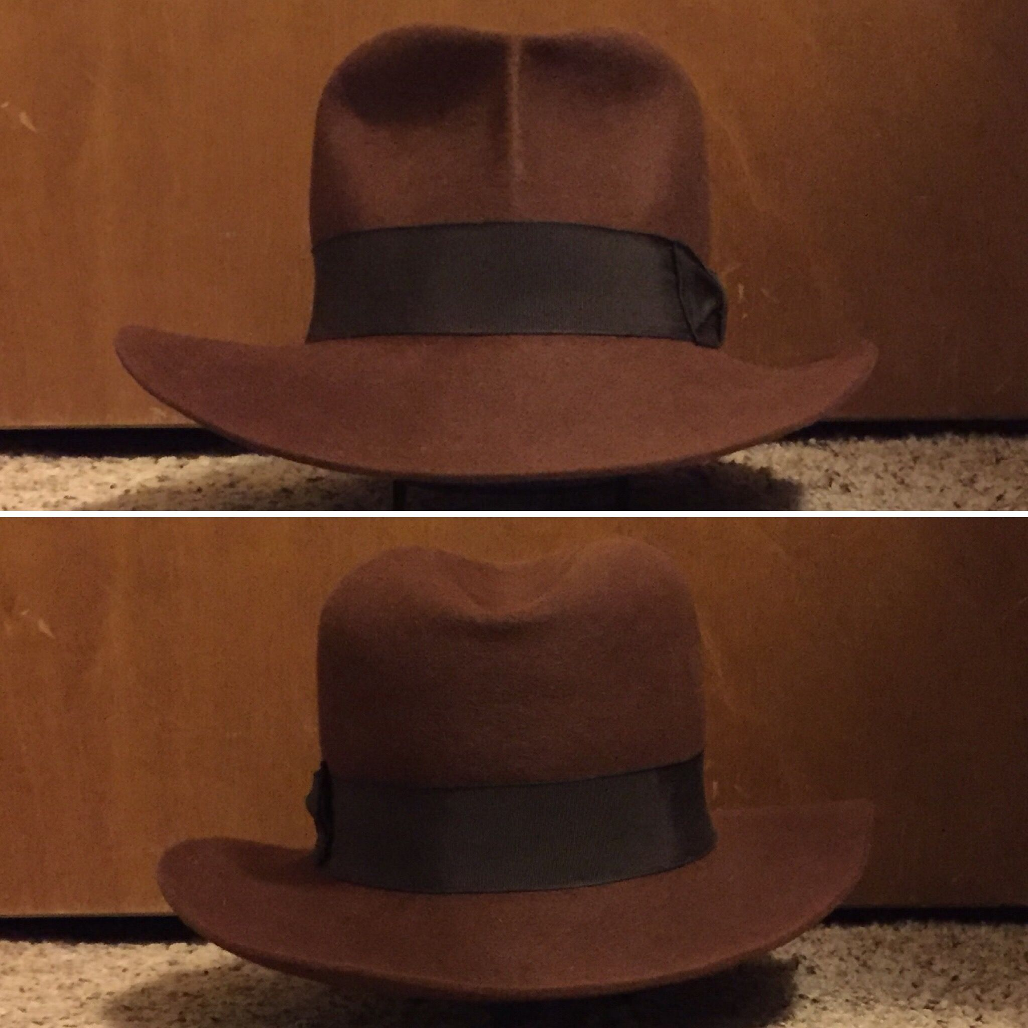 5958f1a61a3 Garrison Hatters  Raiders  Fedora Indiana Jones