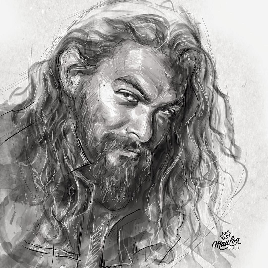 Pin By Lorrie Norris On ART - Draw - People In 2019 | Pinterest | Jason Momoa Drawings And Sketches