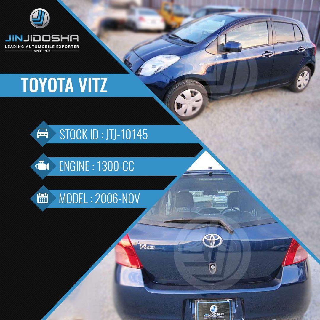 Toyota Vitz In Stock! View Detailshttps//www.jinjidosha