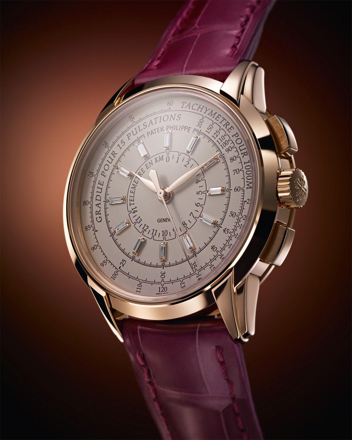 af253bef01e Patek Philippe Multi Scale Chronograph oro y diamantes. Relógios De  LuxoRelógios ...